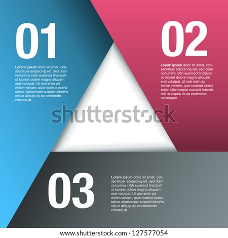 Triangle Overlapping Paper Frame Background. Eps10 file with transparency.