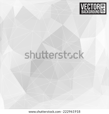 Triangle pattern background. Modern Design - stock vector