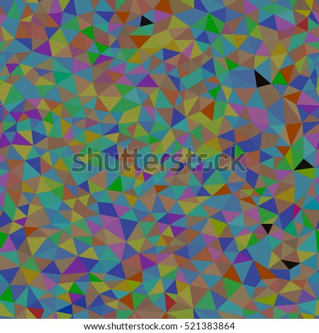 Triangle pattern. Seamless. Colorful background texture