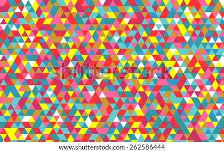 triangle pattern. Vector background. Geometric abstract texture