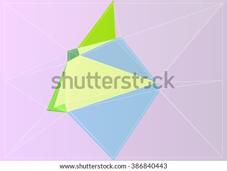 triangle texture backdrop background graphic geometry colorful