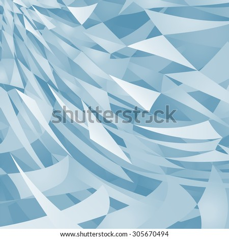 triangles background - stock vector