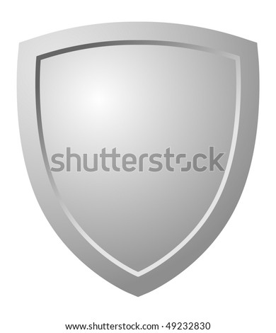 Triangular Shield - stock vector