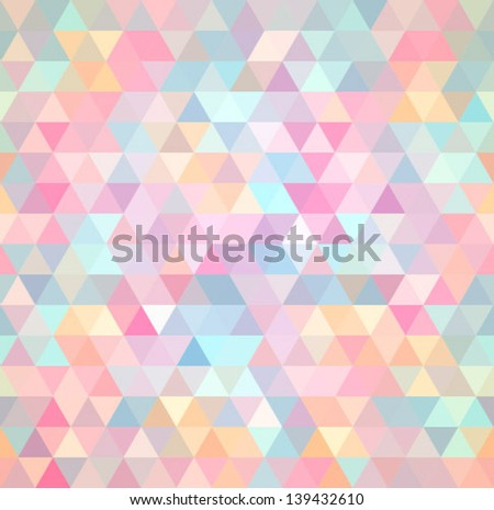 triangular texture, seamless - stock vector