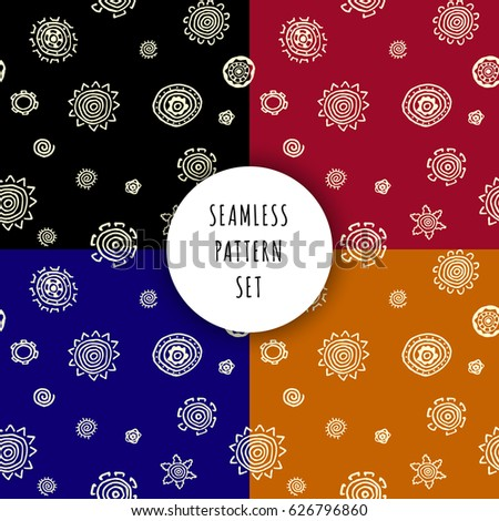 Tribal ethnic ornament seamless pattern. Colorful vector illustration. Ethnic motif for textile, web or paper.