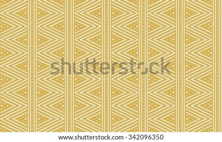 Tribal ethnic seamless african pattern. Vector illustration.