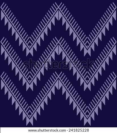 Tribal ethnic vector pattern.Designs for fabric and printing.Abstract designs. - stock vector