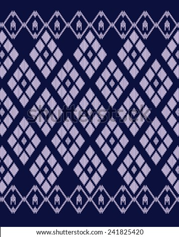 Tribal ethnic vector pattern.Vintage luxury designs. - stock vector