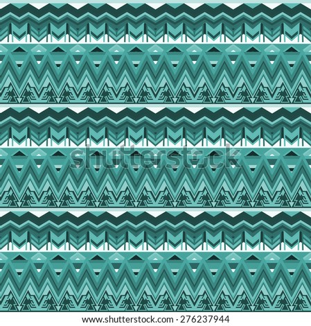 Tribal pattern (seamless) - stock vector
