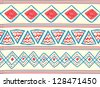 tribal seamless pattern - stock vector