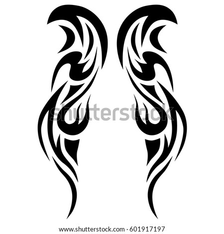 Tribal tattoo stock images royalty free images vectors for Images of tribal tattoos