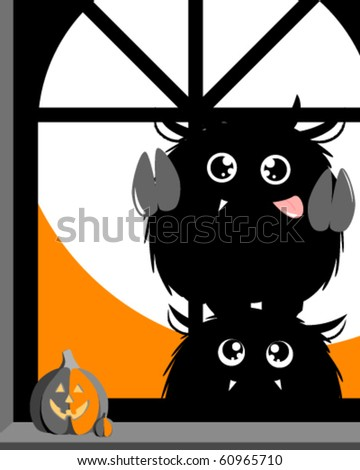 Trick or treat! - stock vector