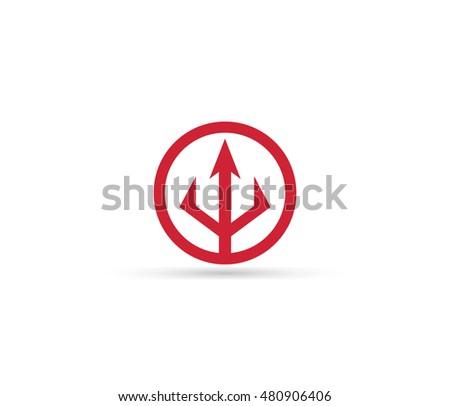 Trident Symbol Stock Vector Royalty Free 480906406 Shutterstock