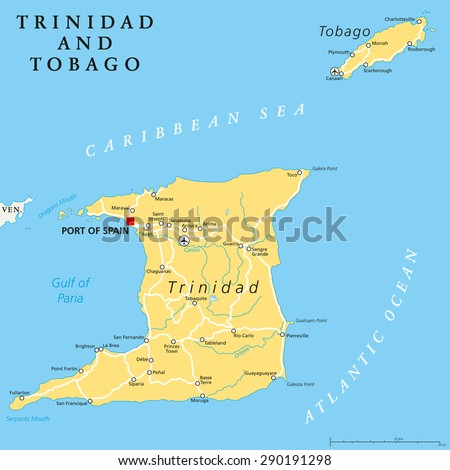 Where is Trinidad And Tobago?