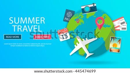 trip world travel world vacation road stock vector royalty free