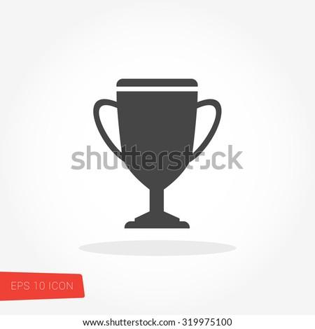 Trophy Icon / Trophy Icon Vector / Trophy Icon Picture / Trophy Icon Image / Trophy Icon Graphic / Trophy Icon Art / Trophy Icon JPG / Trophy Icon JPEG / Trophy Icon EPS / Trophy Icon AI - stock vector