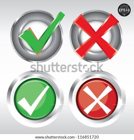True or false Icon, Vector - stock vector