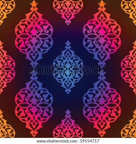 Ttaditional arabic pattern - stock vector