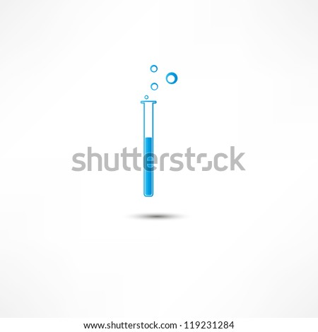 Tube Icon - stock vector