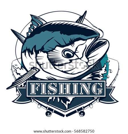 fishing logo wwwpixsharkcom images galleries with a