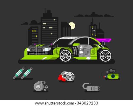 Nitrous oxide stock photos royalty free images vectors for Motor vehicle diagnostic machine