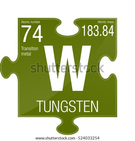 Stock images royalty free images vectors shutterstock - Tungsten symbol periodic table ...
