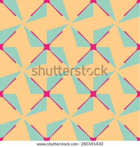 turbine background pattern - stock vector