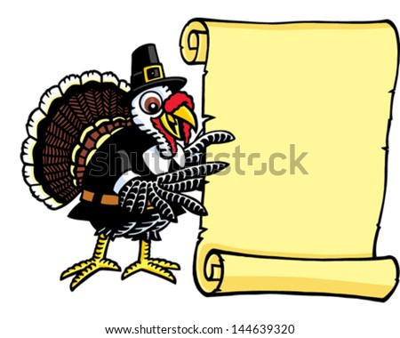 Turkey Banner - stock vector