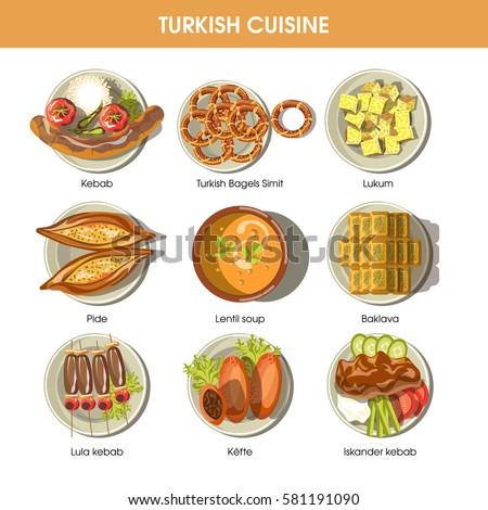 Turkey Menu