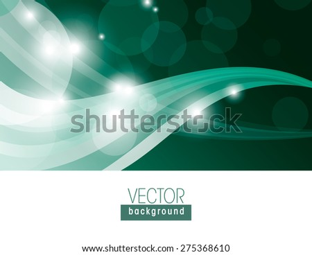 Turquoise background with sparkles. - stock vector