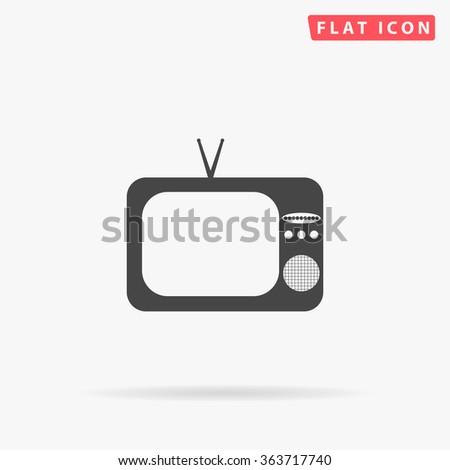 TV Icon.  - stock vector