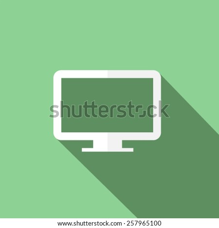 tv icon Vector illustration EPS10 - stock vector