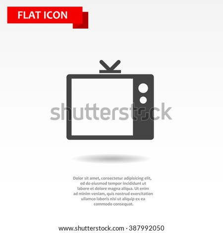 Tv Icon Vector. Tv Icon JPEG. Tv Icon Object. Tv Icon Picture. Tv Icon Image. Tv Icon Graphic. Tv Icon Art. Tv Icon JPG. Tv Icon EPS. Tv Icon Drawing - stock vector
