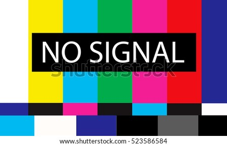 tv no signal design,vector illustration