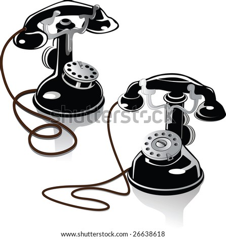 Two ancient phones of the beginning of the twentieth century