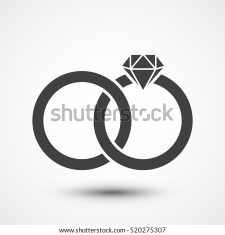 Wedding rings symbol  Wedding Rings Stock Images, Royalty-Free Images & Vectors ...