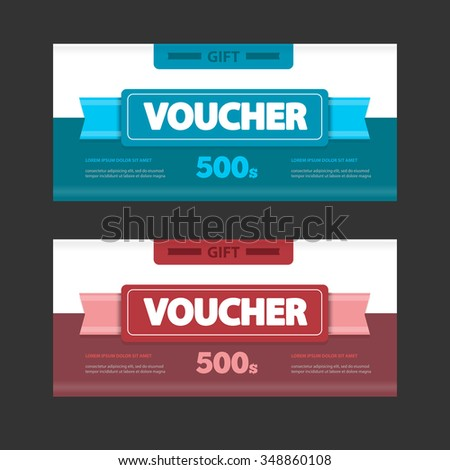 Discount Voucher 50 Off Creative Gift Vector 460345672 – Shop Discount Vouchers