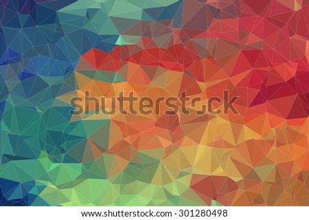 Two-dimensional  colorful background for your web design - stock vector
