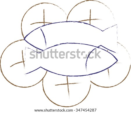 Loaves And Fishes Stock Images, Royalty-Free Images & Vectors ...