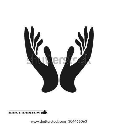Cupped Hands Vector Stock Images, Royalty-Free Images ...