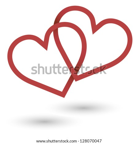 Linked Hearts Stock Images, Royalty-Free Images & Vectors ...