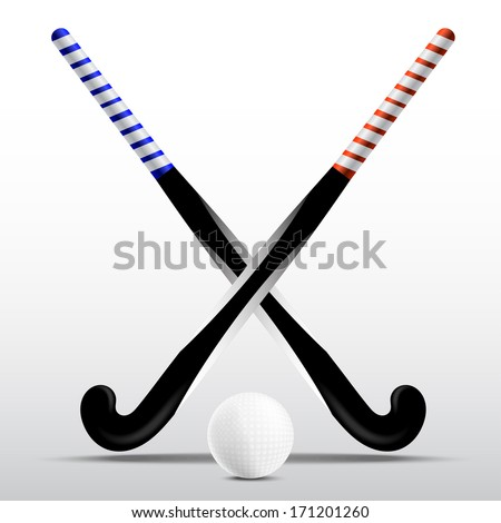Hockey Stick Template Two Sticks For Field Hockey