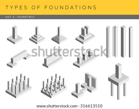 Foundation stock photos royalty free images vectors House foundations types
