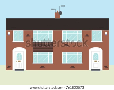 Architecture  detached House Stock Images, Royalty-Free