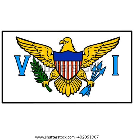 U.S. Virgin Island Flag