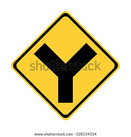 Road Intersection Stock Images, Royalty-Free Images ... Y Intersection