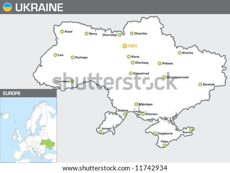 Ukraine - stock vector