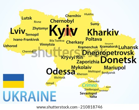 Largest Cities Of Ukraine Russian