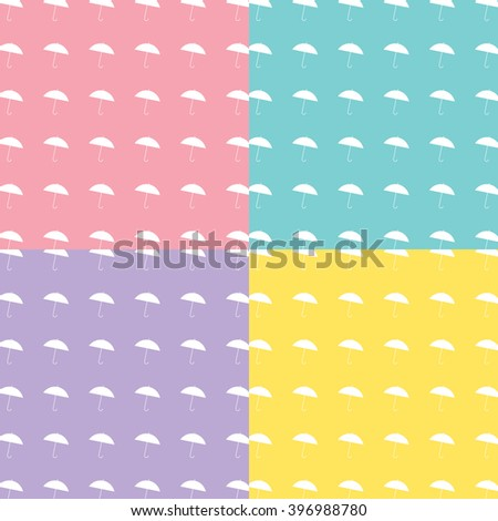 Umbrella Background Vector EPS10, Great for any use. - stock vector