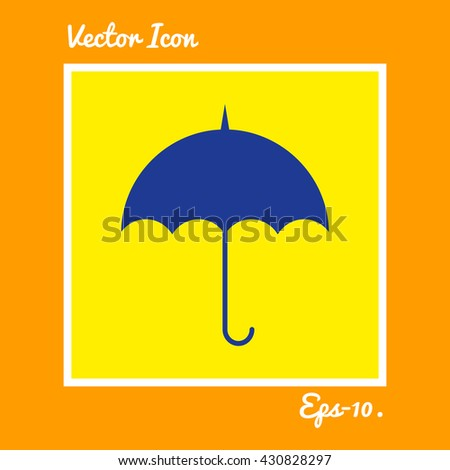 Umbrella Icon. Eps-10.